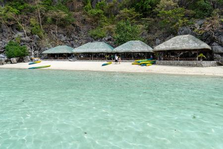 Beautiful view in Coron Island, Palawan , Philippines Imagens