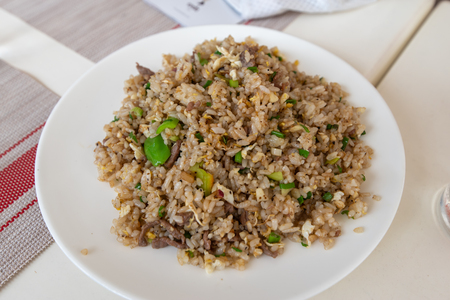 Hong kong style beef fried rice, Philippines