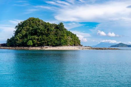 Beautiful Landscape at Port Barton, Palawan, Philippine Foto de archivo - 116567940