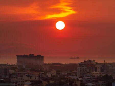 Sunset at the Manila Bay, Philippines