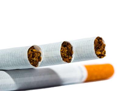 Aimed guns of cigarettes