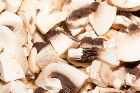 Healthy eating vegetable fungus - edible mushroom