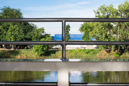 hand rails: Stainless steel railing