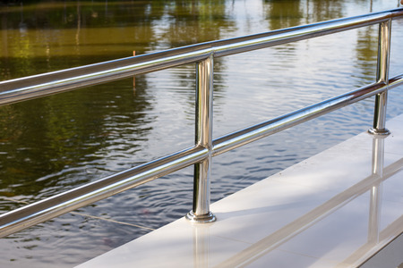 balustrades: Stainless steel railing