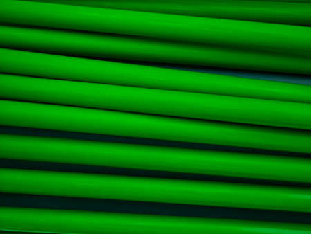 green tube wall photo