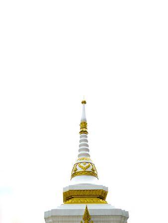 Pagoda in pakkred of thailand photo