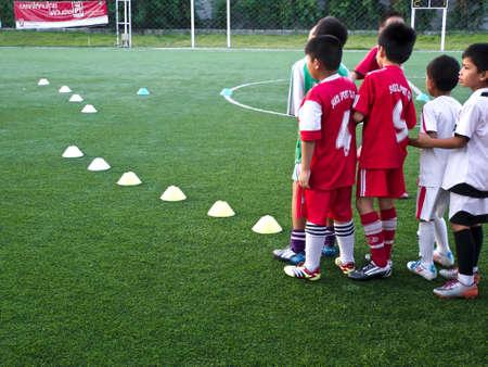 asian bunny: football club Editorial