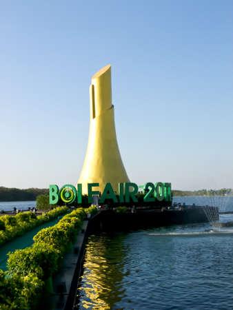 Sign BOI Fair 2012 in thailand