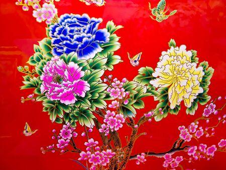 new age: Estilo chino Foto de archivo