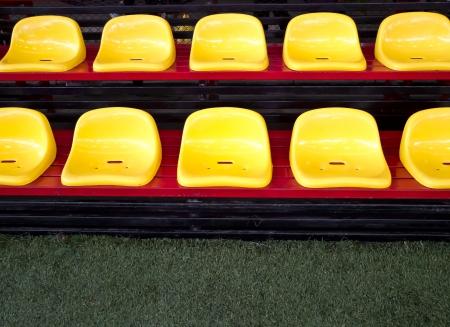 seat in football field Stock Photo - 13747160