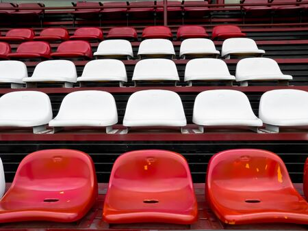 seat in football field photo