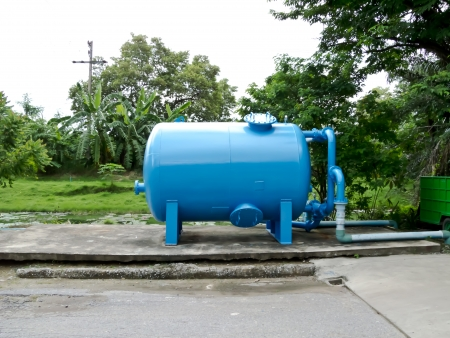 tuberias de agua: tanque de agua