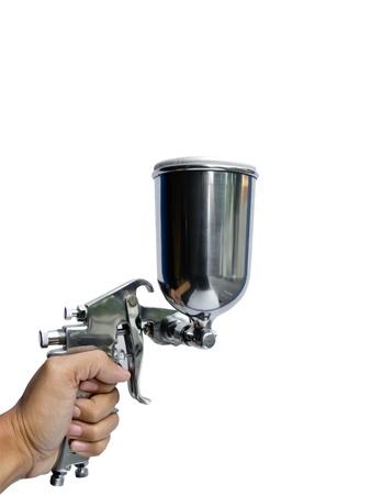 airbrushing: pistola rociadora