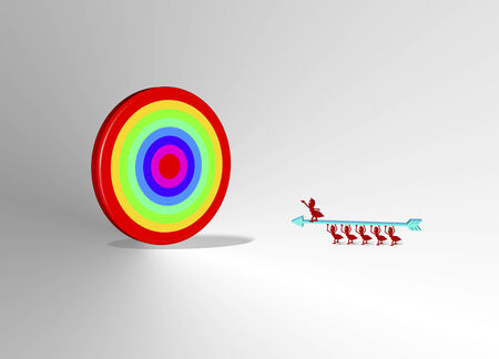 3d target photo