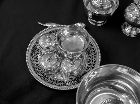 silverware: plater�a thaistyle blanco y negro
