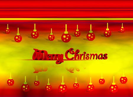 cutcat: merry christmas text Stock Photo
