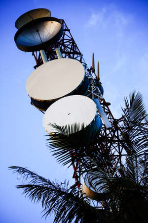 bowl frequency: communication antenna tower Editorial