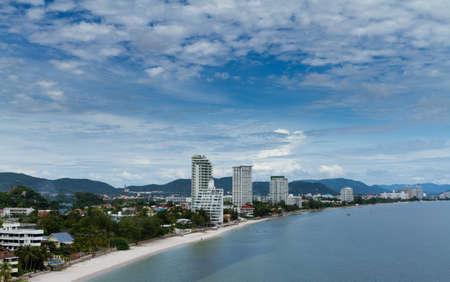 hin: Hua-Hin beach, Thailand.