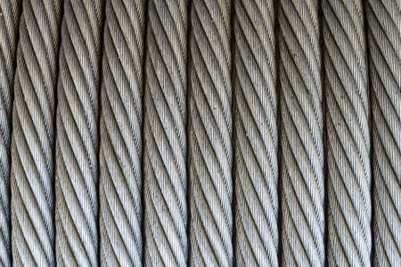wire rope texture - heavy duty steel wire cable or rope photo