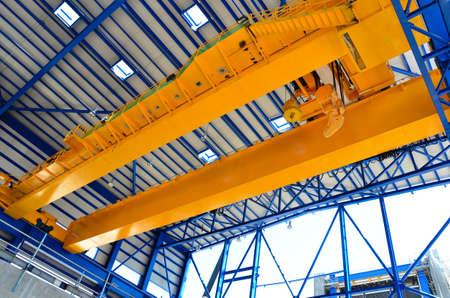 Factory overhead crane  photo