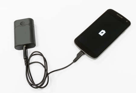 recharge: Mobile phone and battery bank