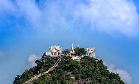 siem reap: Wat Khao chong krachok ,Prachuab khirikhan Thailand