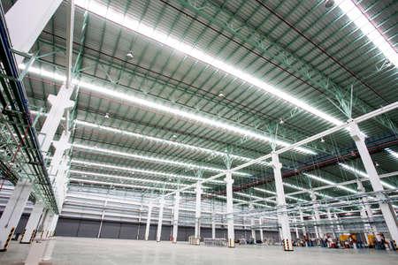内部の工場の建物
