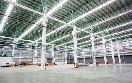 Internal factory buildings photo