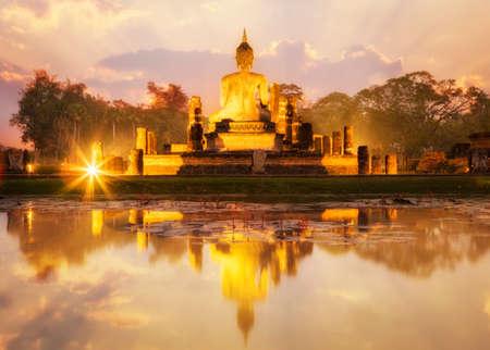 スコータイ歴史公園、タイの古い町