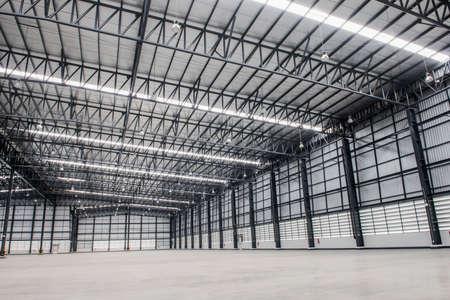 storehouse: Large modern empty storehouse