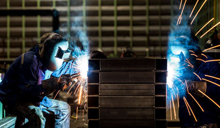 steel making: Welding steel structure