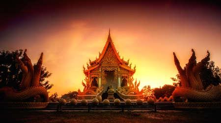 pa: Wat Pa Mahasan Temple Roi-Et, Thailand