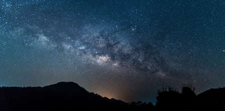 way: Milky Way galaxy Stock Photo