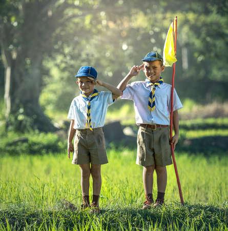 アジアの少年スカウト宣誓を作る