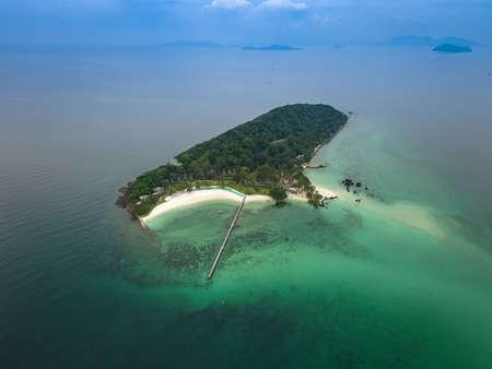Aerial view of Koh Kham, Trad, Thailand