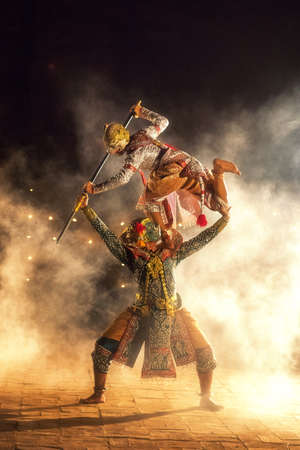 STRICTLY KHON DANCING : PERFORMERS of one of Thailands most highly regarded dances are keeping the tradition alive, despite the recent decline in popularity of the art form,Thailand