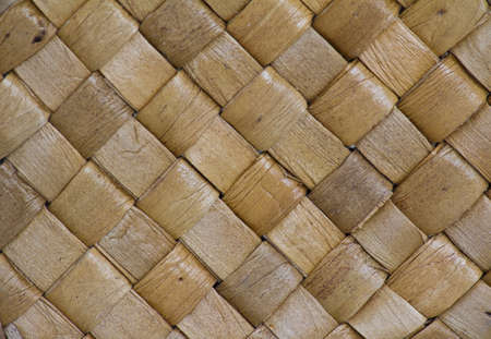 brown square basket weave texture photo
