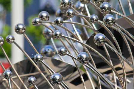 Metal sculpture photo