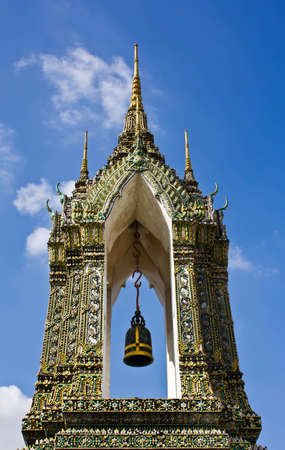 Temple belfry,wat pho,bangkok,thailand.  photo