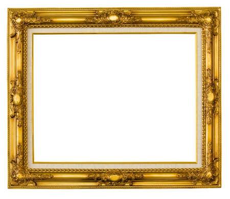 Cadre photo or Banque d'images - 11688916