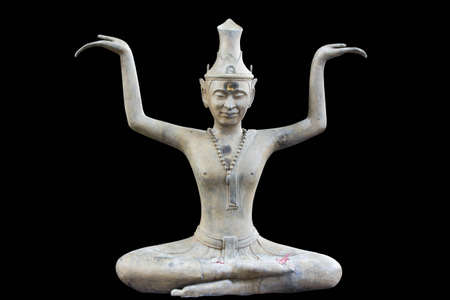 Native Thai style ascetic image photo