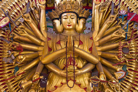 chinese culture: Thousand hands, U Lai, supreme god in Chinese culture