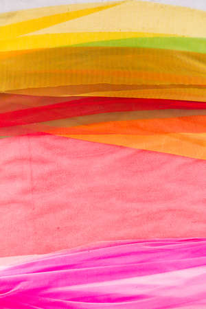 Fabric assorted colors photo