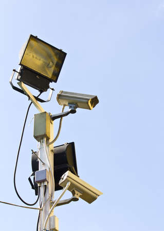 closed circuit: Video Camera Security System