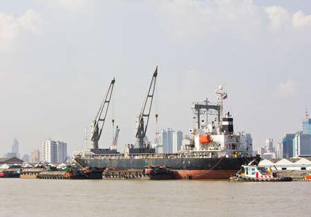 Cargo ships  photo