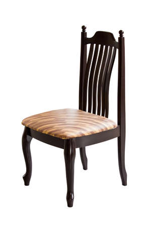 Brown wooden chair Stock Photo - 16403322