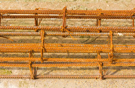 Old rusty wire  photo