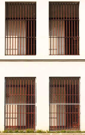 prison cell: Ancienne prison en Thaïlande