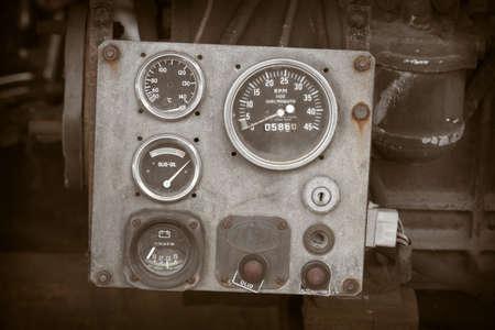 tablero de control: Panel de control del motor