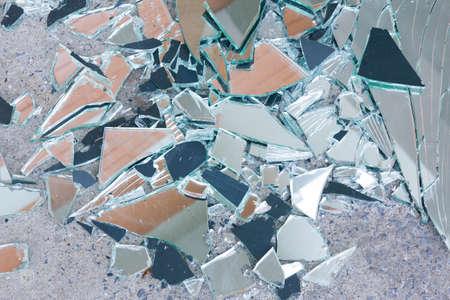 shards: Shards of shattered glass.